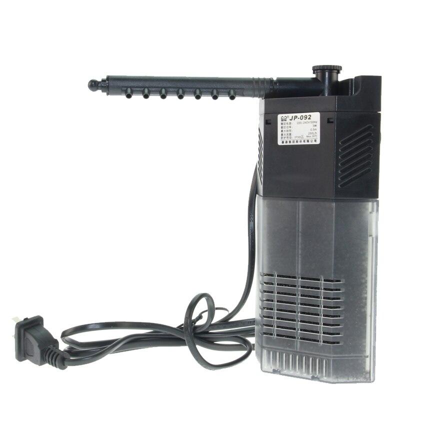 Sunsun 220V bomba de filtro de bomba de oxígeno para acuario bomba sumergible 3 w/5 w/7 w