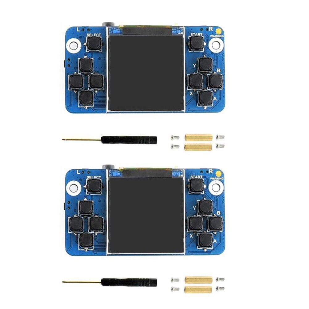 2 pçs/lote Waveshare 1.54 polegada Tela Minúscula GamePi15 Projetado 240 × 240 de resolução para Raspberry Pi, bom Jogo para o Zero WS0022