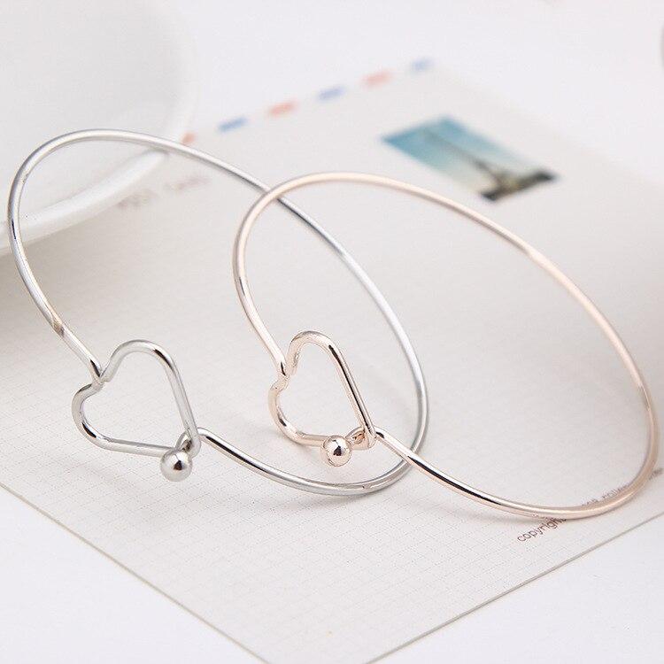 S102 nova moda coreana venda quente amor pulseira e moda coringa menina acessórios por atacado