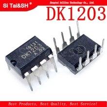 10 unids/lote DK1203 línea en lugar de THX203 DIP8 IC de gestión de DK nuevo original