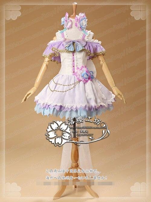 Anime! Miłość na żywo Koizumi Hanayo biały dzień drugiej wersji anioł przebudzenie sukienka jednolite Cosplay kostium darmowa wysyłka