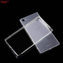 Nephy Soft Clear Case For Sony Xperia Z2 Z3 Plus Z4 Z5 M4 Aqua M5 X XA XZ XP X Compact Performance Cell Phone Back Cover Casing