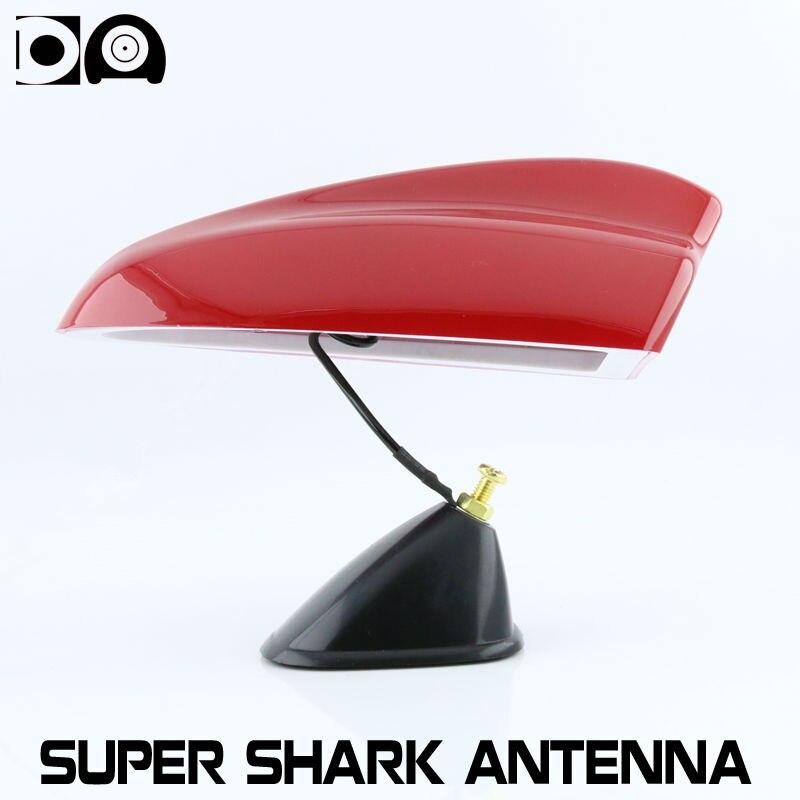 Super alerón con forma de aleta de tiburón antenas de radio de coche especiales auto señal de gran tamaño para kia sportage Accesorios