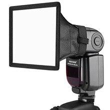 Neewer 6x5 pouces/15x13cm Speedlite Softbox diffuseur de lampe de poche pour Canon 580EX II 600EX-RT/YongNuo YN560 III YN560 IV/Nikon