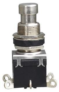 PBS-24-202 DPDT 6 Pinos ON-ON Self-locking engatamento PCB elétrica pé efeitos da guitarra mudar pedal
