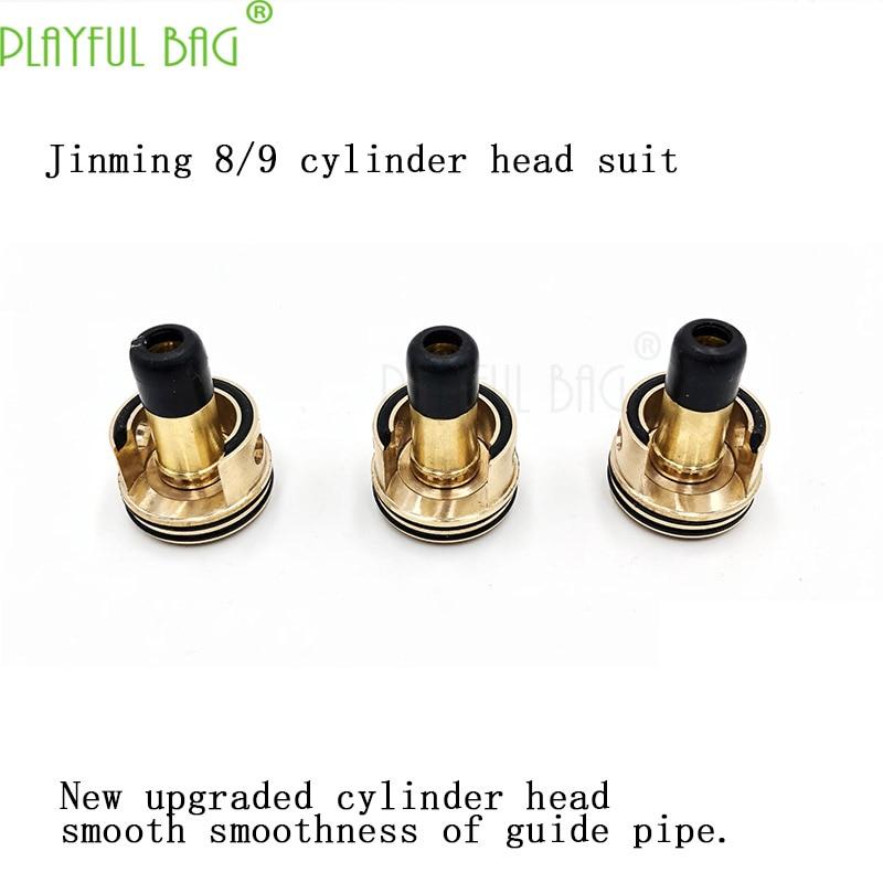 PB Spielerische tasche änderung von Jinming 8/9 generation wasser bombe gun welle box zusammen zu bekommen gas zylinder kopf push- mund QJ02