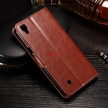 Caja del teléfono para LG X Power K220DS XPower K220 Flip Funda de cuero del teléfono para LG X Power K210 K 210 220DS 220 ds bolsas telefónicas coque