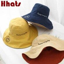 Sombrero de verano Reversible de ala ancha para mujer, sombrero de algodón de ala grande para mujer, sombrero Reversible para vacaciones, playa, Panamá, gorra de pesca