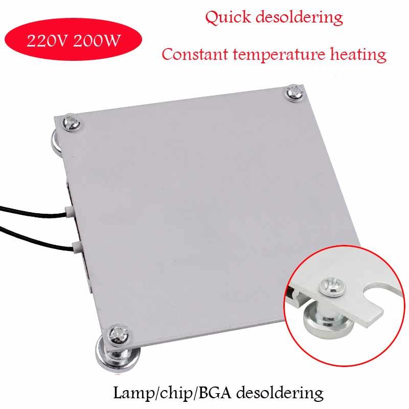 Нагревательная плита станция предварительного нагрева Светодиодная лампа бисерная станция для демонтажа ЖК-ламповая лента для демонтажа BGA чипа