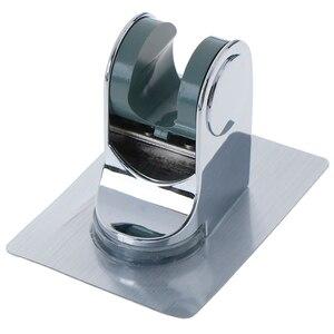 Mounted Shower Holder For Bathroom Accessory Adjustable Shower Head Handset Holder Rack Bracket Suction Cup Shower Holder Wall