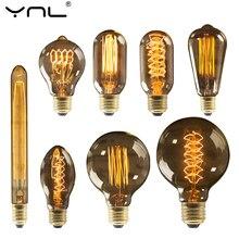 Retro Edison Lamp E27 220V 40W ST64 G80 G95 G125 Ampul Vintage Edison Lamp Gloeilamp Gloeidraad Licht lamp Home Decor