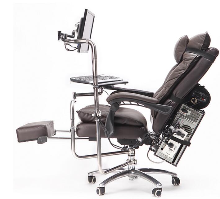Бесплатная доставка кожаный компьютер. Игровые столы и стулья в офисе для Интернет-кафе можно разложить столы и стулья