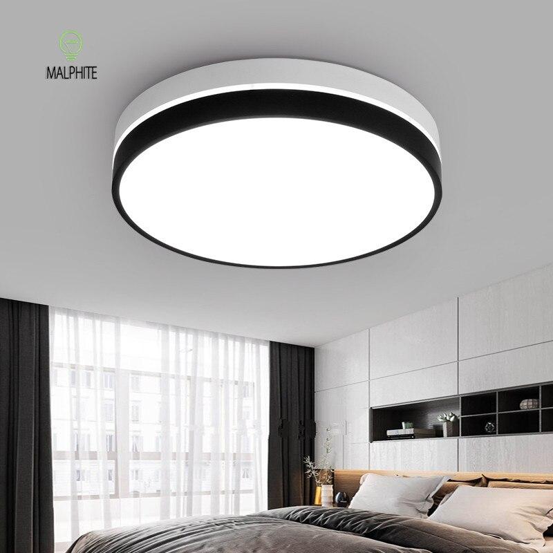 Modern Led Black Hanging Light Ceiling for Bedroom Fixtures Led Lamp Ceiling Luminaire Living Room Luminaria Kitchen Home Decor