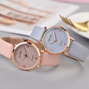 Women Watches Luxury Brand Womens Ladies Simple Watches Geneva Faux Leather Analog Quartz Wrist Watch Clock Saat Gift