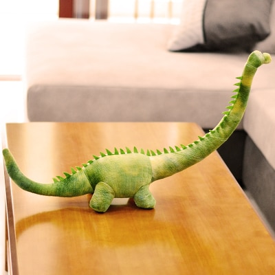 new long neck dinosaur toy green tyrannosaurus dinosaurs doll children birthday gift about 70cm