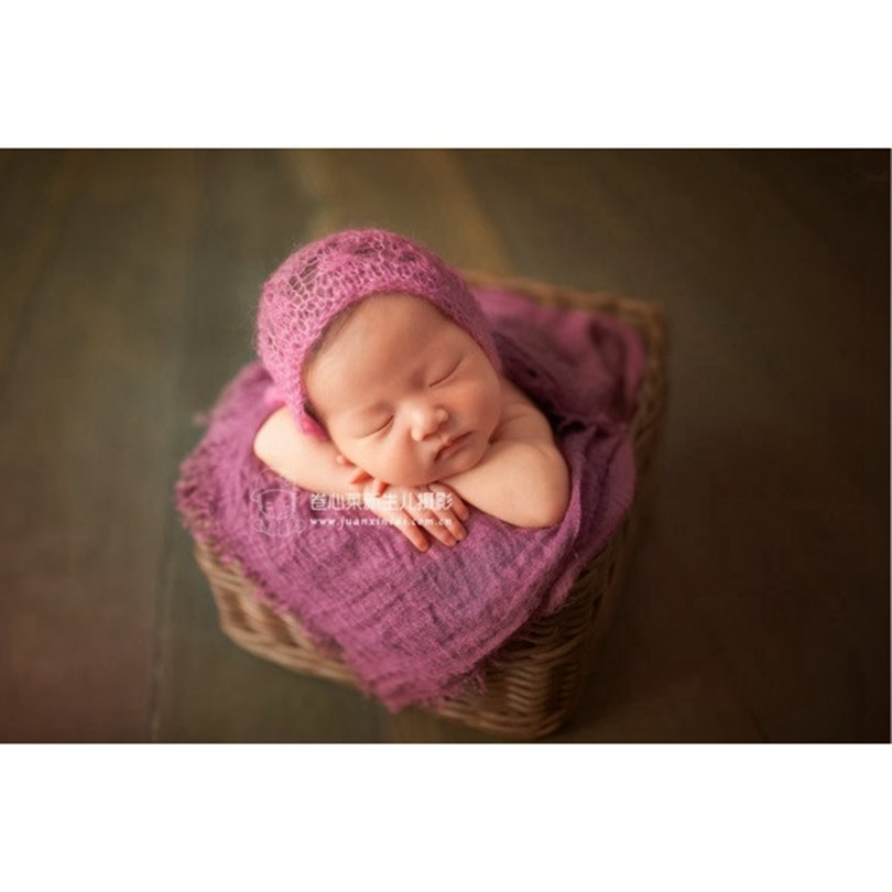 Dyed cheesecloth Wrap Stretch knit Photography props Baby swaddle blanket backdrop Snuggle sack Newborn Jersey wrap