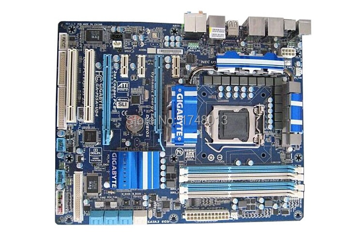 Оригинальная материнская плата для Gigabyte, GA-P55A-UD4 платы, 1156 DDR3 16G для i5 i7 cpu P55, Настольная материнская плата, бесплатная доставка