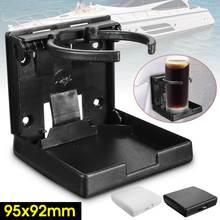 Porte-boisson pliable et ajustable   Tasse de camping pour bateau et caravane Marine, 4x4, blanche et noire