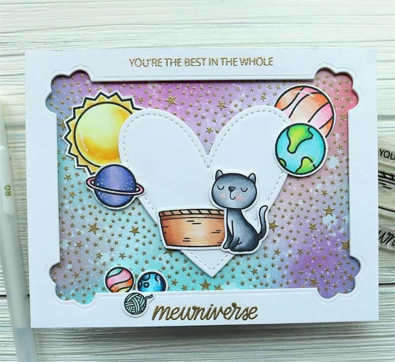 Z139 Cat METAL CUTTING DIES Transparent Stamp Gift Scrapbook Card Album Wedding Paper Craft Home Decor Embossing Stencil Punch