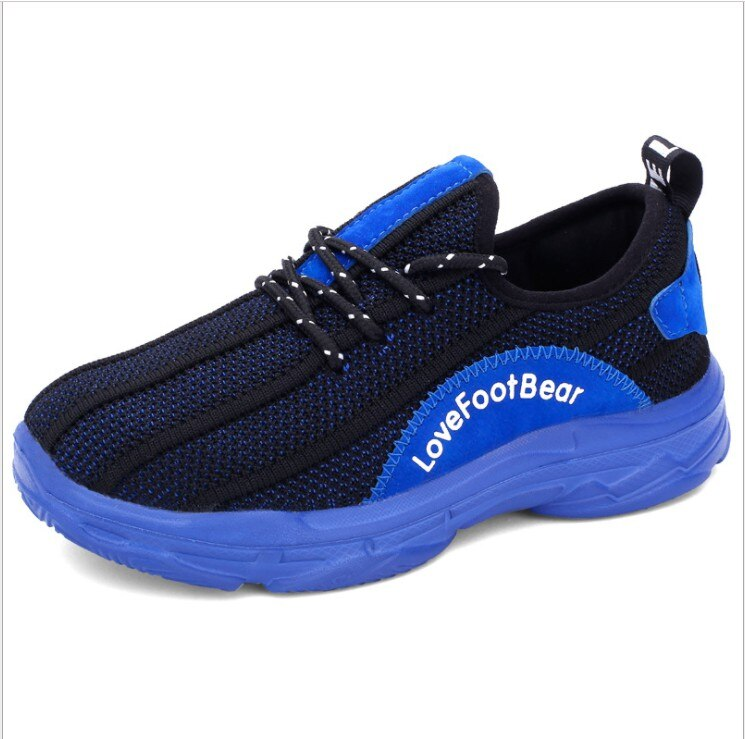 Nuevo diseño de zapatillas deportivas para niños, zapatillas ligeras transpirables para niños y niñas, zapatillas deportivas para exteriores para niños, zapatillas FlyKnit, talla 31-40
