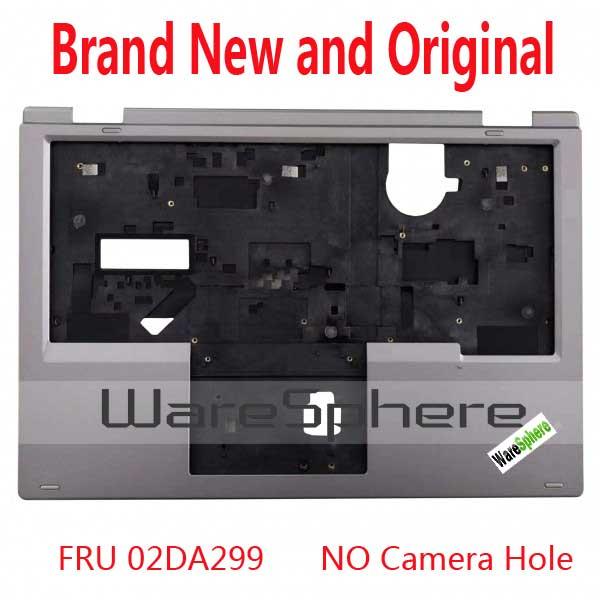 Nueva funda superior original para Lenovo ThinkPad Yoga L380 Yoga S2 02DA299 460.0CT0A. Plata 0001-sin agujero para cámara