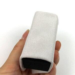 Image 1 - 14*14 см, 10 шт., автомобильное покрытие большого размера, ткань из микрофибры, керамическая нано ткань для стекловолокна, прозрачное покрытие, одежда для нанесения покрытия