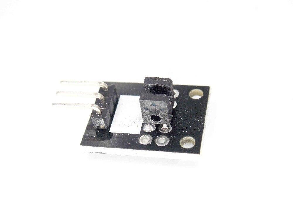 Eletrônica inteligente KEYES Quebrado KY-010 Luz Foto Interruptor Módulo Sensor de Bloqueio PIC AVR Starter Kit DIY KY010