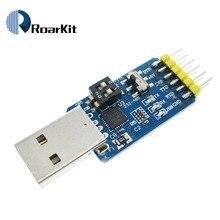Six multifunction serial module 6 in 1 CP2102 usb turn TTL 485 232 Huzhuan 3.3V / 5V compatible