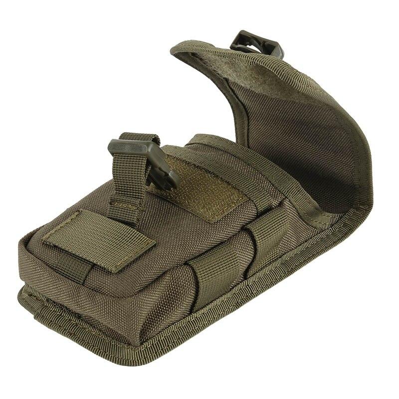 Bolsa táctica para cinturón de Camuflaje militar, bolsa para teléfono, bolsa Molle, cinturón, bolsillo para campamento, riñonera
