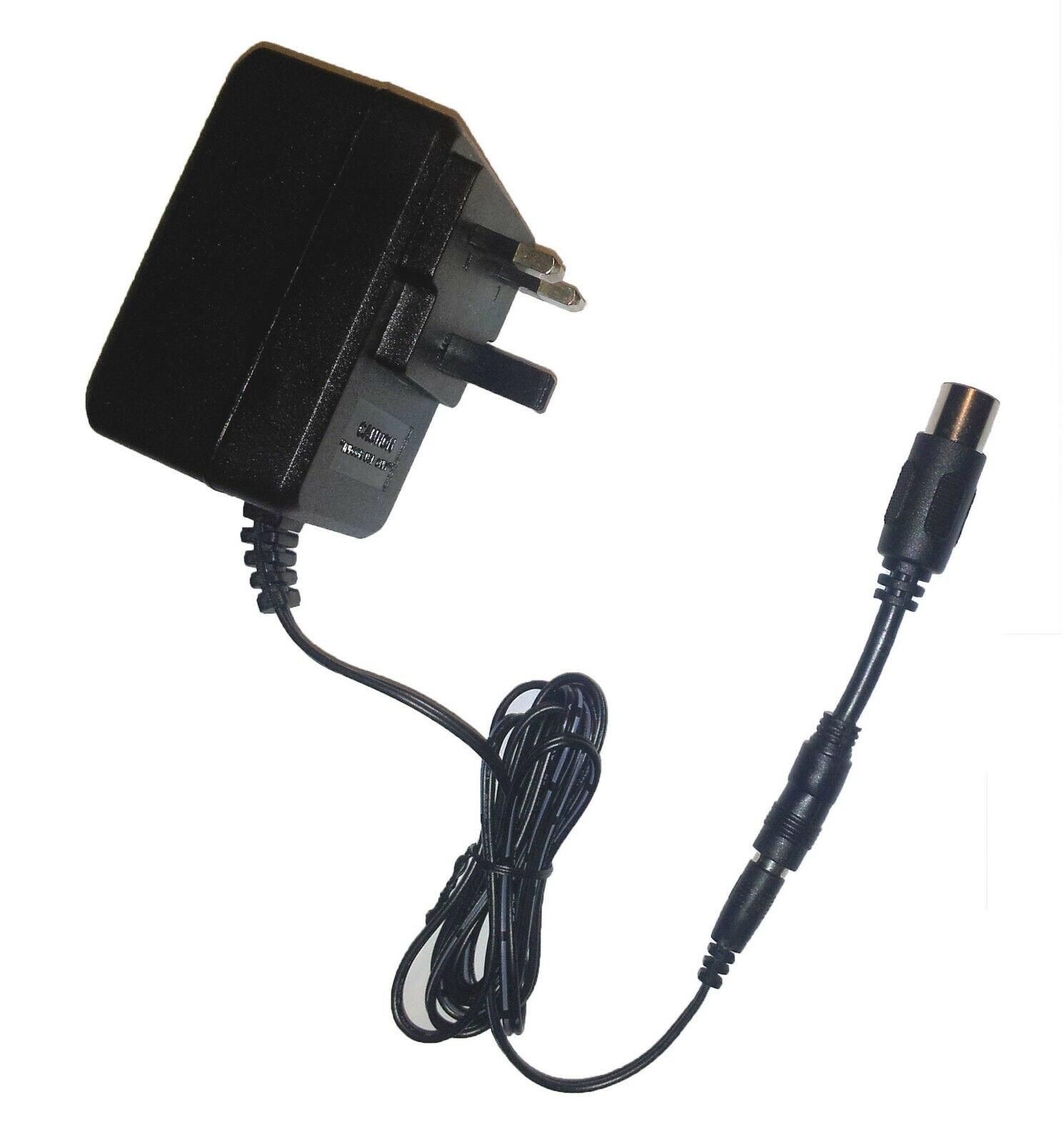 DIGITECH RP2000 efectos PEDAL fuente de alimentación adaptador de repuesto UK AC9V 4 PIN DIN