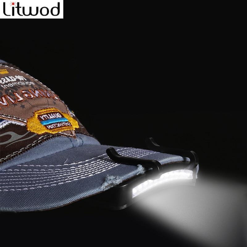 Litwod super Bright 11 LED cap light Headlight HeadLamp head Flashlight head Cap Hat Light Clip on light Fishing head lamp z30