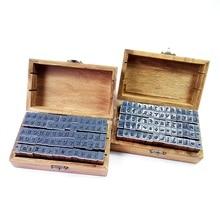 70 pièces/ensemble nombre et lettre multifonction ensemble de timbres en bois boîte en bois tampons en caoutchouc bricolage écriture manuscrite régulière