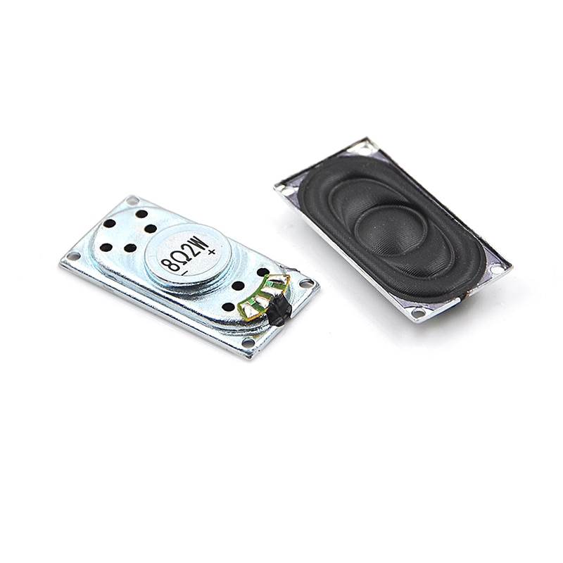2 piezas de Audio altavoces portátiles 2040 8Ohm 2 W altavoz portátil de altavoz de la computadora