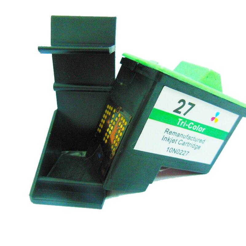 Einkshop para Lexmark 27 cartucho de tinta para Lexmark Z605 Z615 X1100 X1200 X74 X75 X83 X125 X1150 i3 Z13 Z23 Z25 Z33 Z35 Z515 Z600