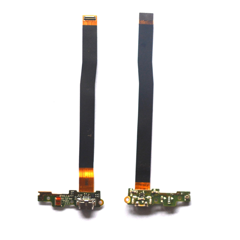 Para Huawei Honor 6C/Honor 6C Pro USB Carregador Carregamento Porto Dock Connector Flex Cable Módulo Board Microfone