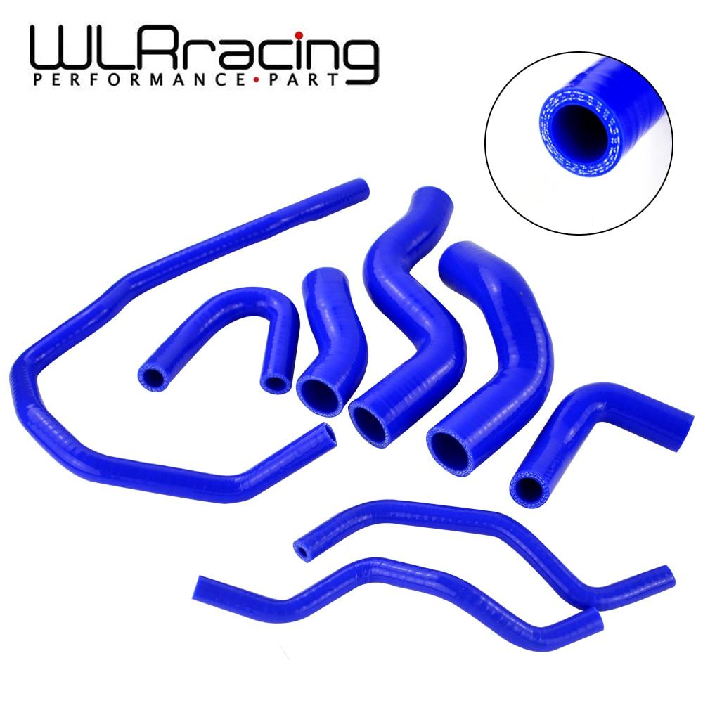 WLR RACING-kit de manguito de refrigeración de radiador de silicona azul para VW GOLF GTI MK5 2,0 T 2003-2009, para AUDI MK2, para Seat Leon MK2