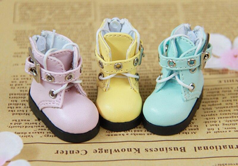 Calidad Superior 1/6 BJD botas de cuero zapatos para muñeca Msd SD BJD bonitos accesorios zapatos de muñeca