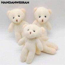 3 pièces/lots Mini ours en peluche jouets petit pendentif mignon diamant ours poupée doux en peluche jouet pour enfants filles cadeau 12CM