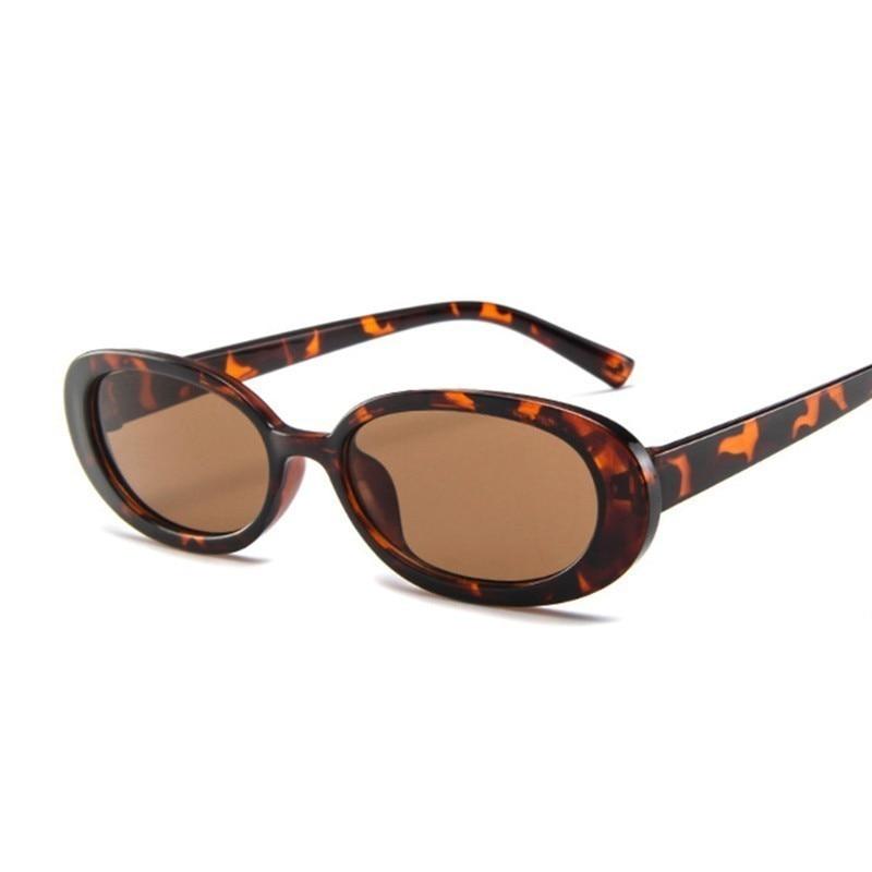 Women Sunglasses Classic Retro Vintage Oval Sun Glasses For Female Brand Designer Eeywear Top Qualit