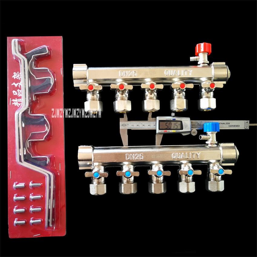 Sistema de aquecimento de piso junta fixa coletor de água geotérmica separador válvula divisor nocaute tambor armadilha conjunto separador água