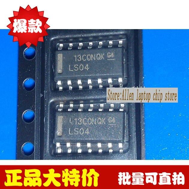 Бесплатная доставка, 10 шт./лот, logic ps LS04 74LS04 SN74LS04DR SN74LS04D SN74LS04 SOP14