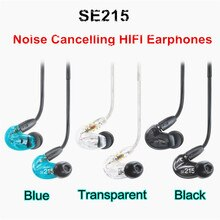 Günstige preis! SE215 Earphons Hallo-fi stereo Noise Cancelling 3,5mm SE 215 In ohr Detchabl Kopfhörer mit Box VS SE535 SE 535 big Verkauf