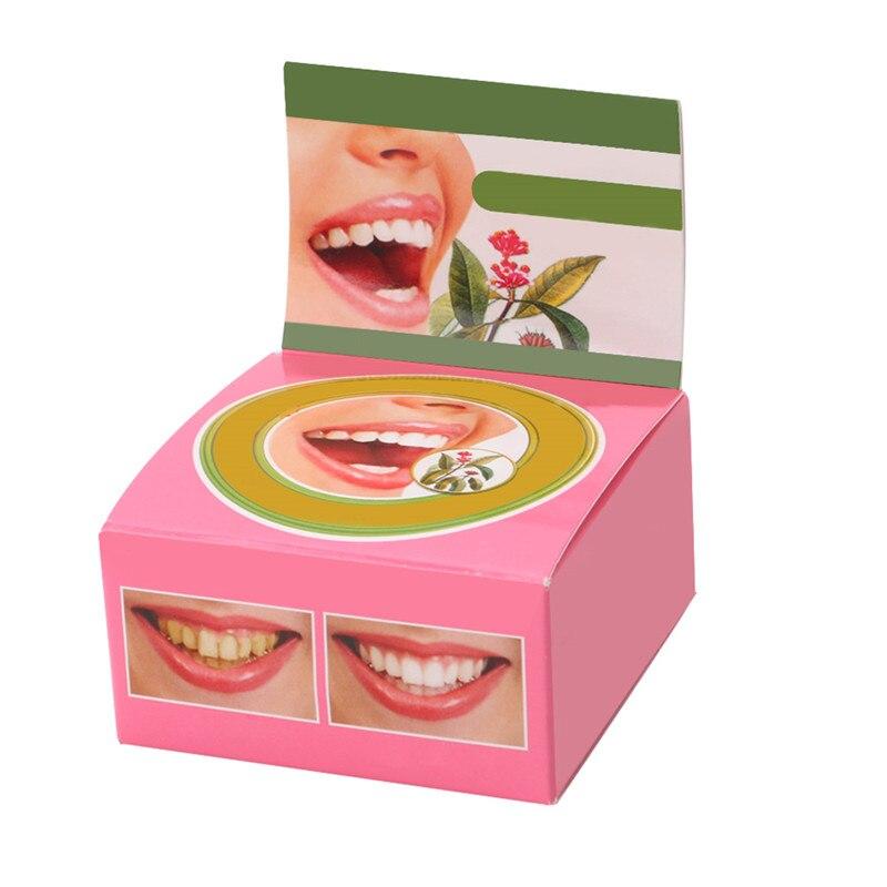 Dentifrice à base de plantes Dentifrice blanchiment des dents enlever les taches jaunes noires 5g