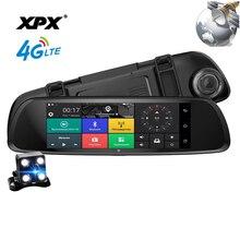 Dash cam XPX ZX868 Auto dvr 3 in 1 Radar Dvr GPS macchina fotografica di retrovisione dello specchio di Automobile DVR Della Macchina Fotografica dellautomobile full HD 1080P G-srnsor Auto della macchina fotografica