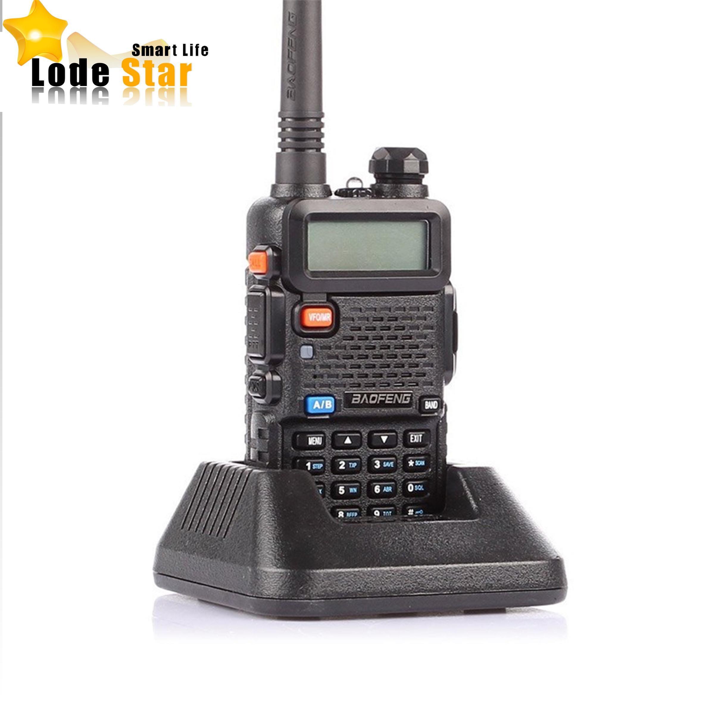 Original Brand BaoFeng UV-5R 5R Walkie Talkie136-174 /400-520Mhz Two Way Radio Portable CD Radio 5W Dual Band VHF&UHF interphone