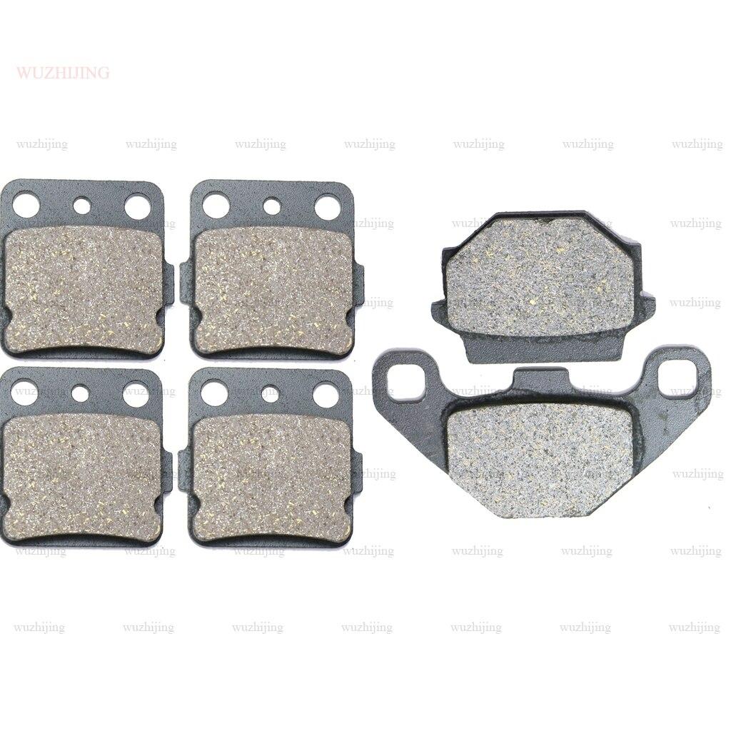 Pastilhas de freio a disco conjunto para suzuki LT-A lta 500 fk3 vinson 4wd auto (03-09) traseira dianteira