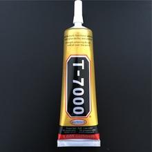 T7000 50 ml 다목적 접착제 라인 석 diy 전화 스크린 프레임 에폭시 수지 실란트 네일 젤에 T-7000 슈퍼 블랙 액체 접착제