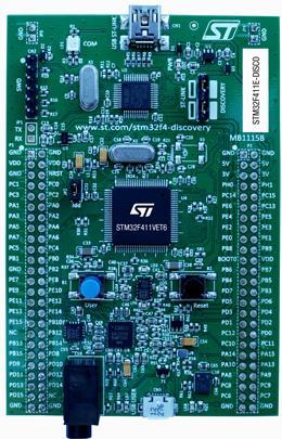 Tablero de desarrollo Original genuino STM32F411E-DISCO