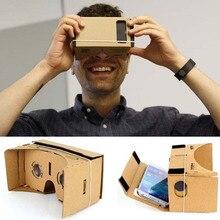 Google carton Viar 3 D lunettes de réalité virtuelle 3D VR lunettes pour téléphone iPhone Android Smartphone casque casque avec lentilles