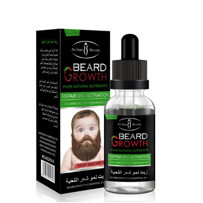 Men Growth Beard Oil Organic Beard Wax Balm Avoid Beard 100% Natural Hair Loss Products Leave-In Conditioner for Groomed Growth недорого